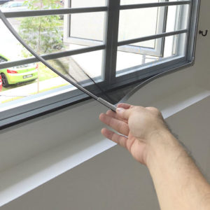 magnetic fly screen window