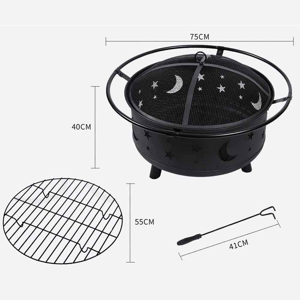 fire pit with grill australia
