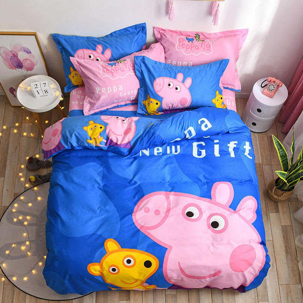 buy peppa pig twin bedding set