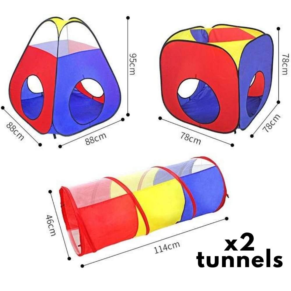 buy kids playhouse and crawl tunnel
