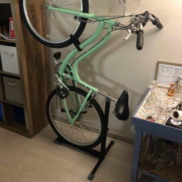 home floor bicycle rack