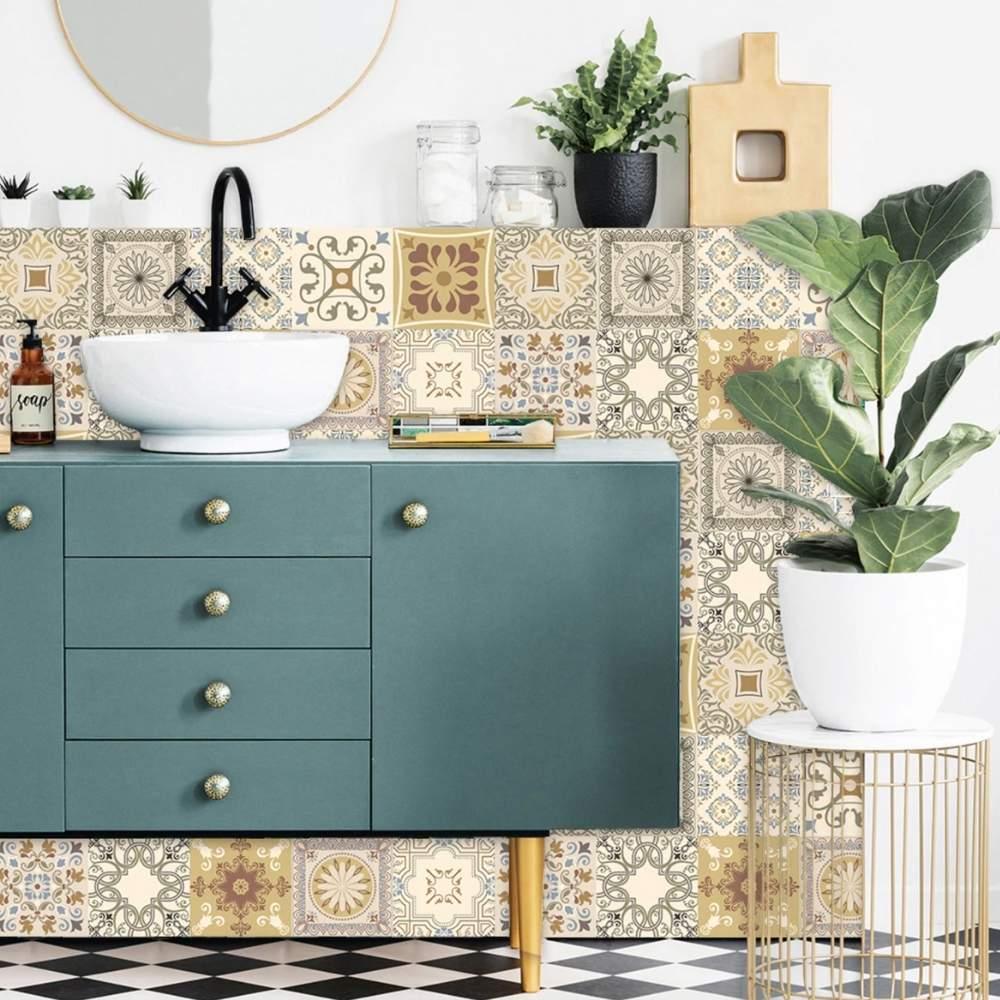 buy bathroom tiles decal online