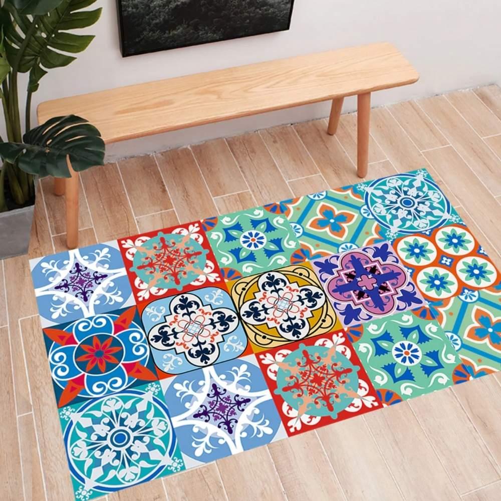 buy self adhesive floor tile stickers online